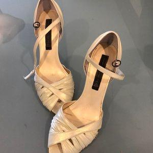 Steve Madden ivory heels 8.5
